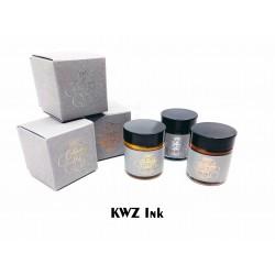 化學博士的手調墨水- KWZ Inks Calligraphy Ink 25ml 沾水筆專用墨水(三色可選)