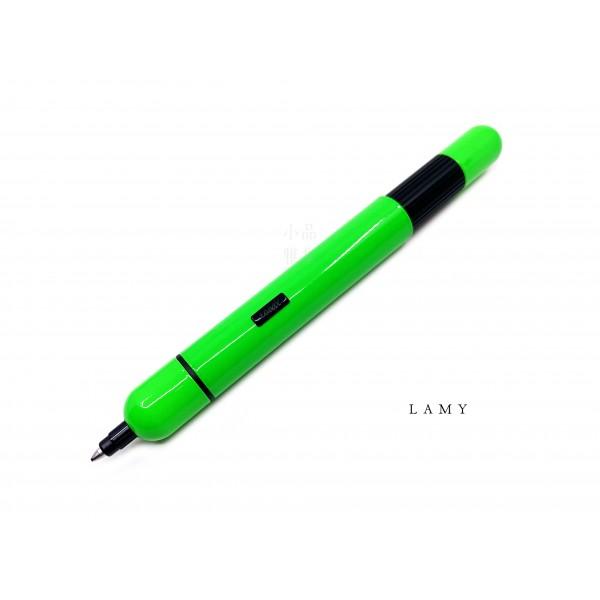 德國 Lamy Pico 口袋筆系列 2019 neon green 螢光綠 原子筆