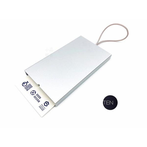 TEN Stationery I Am系列 名片盒(銀色)