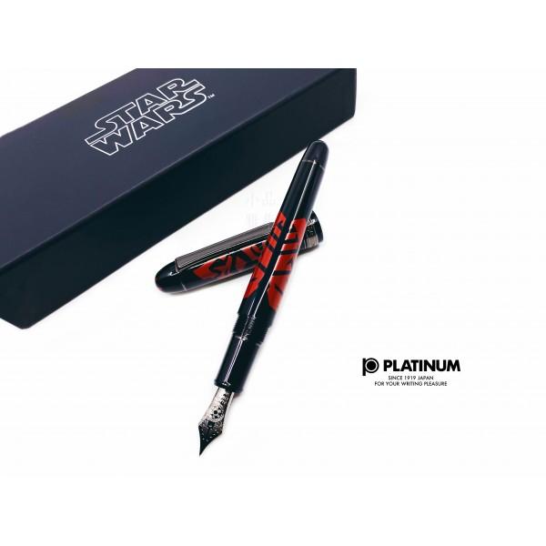 日本 Platinum 白金 #3776 Century Star Wars 星際大戰 限量款 14k 鋼筆(Darth Maul 達斯魔)
