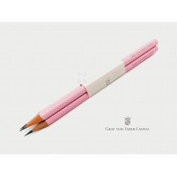 德國 Graf von Faber-Castell 繩紋飾 三入一組鉛筆(Yozakura 夜櫻)