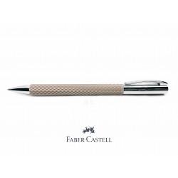 德國 Faber-Castell 輝柏 Ambition 成吉思汗 印度繩紋 繩紋飾 原子筆(灰白色)