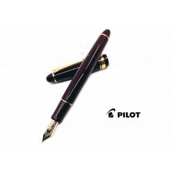 日本 PILOT 百樂 Custom 742 系列 14K 10號尖 鋼筆(深紅色)
