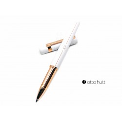 德國 OTTO HUTT 奧托赫特 Design03 rosewhite 霧白玫瑰金鋼珠筆