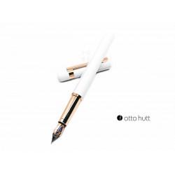 德國 OTTO HUTT 奧托赫特 Design03 rosewhite 霧白玫瑰金鋼筆