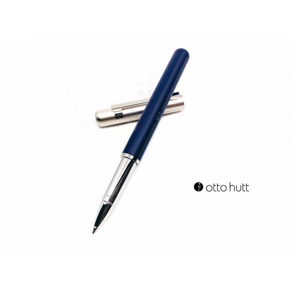 德國 OTTO HUTT 奧托赫特 Design03 navy grey 深藍銀蓋鋼珠筆