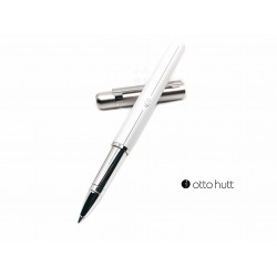 德國 OTTO HUTT 奧托赫特 Design03 light grey 珍珠白桿銀蓋鋼珠筆