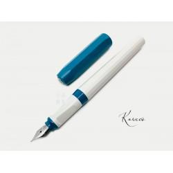 德國 Kaweco Perkeo 鋼筆(牛仔藍蓋灰桿)