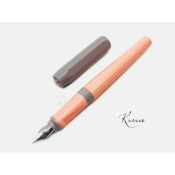 德國 Kaweco Perkeo 鋼筆(深灰蓋杏桃粉桿)