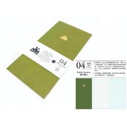 臺灣 青青 KEEP A NOTEBOOK 寫筆記A5 Slim 機能筆記 旅人筆記本可用(4號橫方筆記)