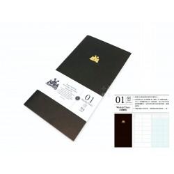 臺灣 青青 KEEP A NOTEBOOK 寫筆記A5 Slim 機能筆記 旅人筆記本可用(1號日週筆記)