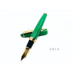臺灣 ZOLA 袖珍短型鋼筆(綠色)