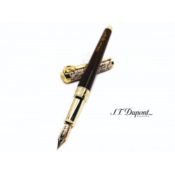 法國 S.T. DUPONT 都彭 Line D 2020 SHAKESPEARE LIMITED EDITION-The Sword 莎士比亞 限量 14K 鋼筆