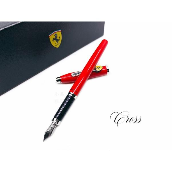 CROSS 高仕 CENTURY II 法拉利 經典世紀2系列 鋼筆(亮紅)