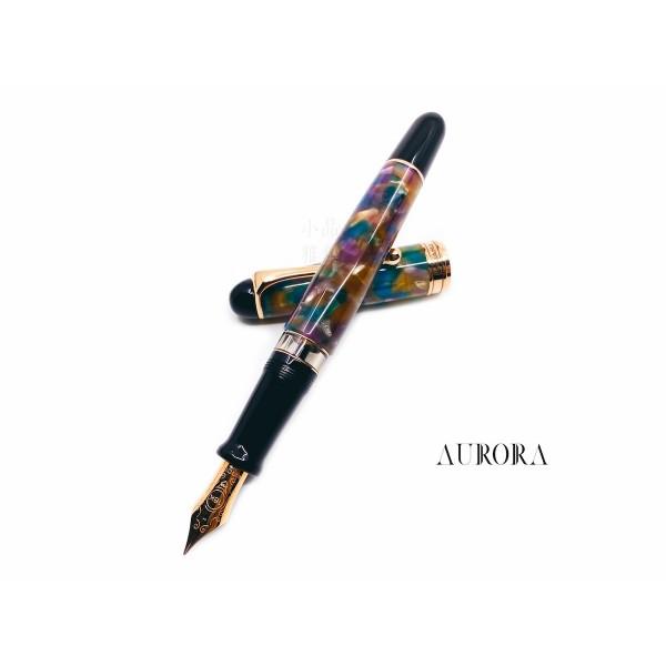 義大利 Aurora 888 Giove木星 全球限量888支 18K鋼筆