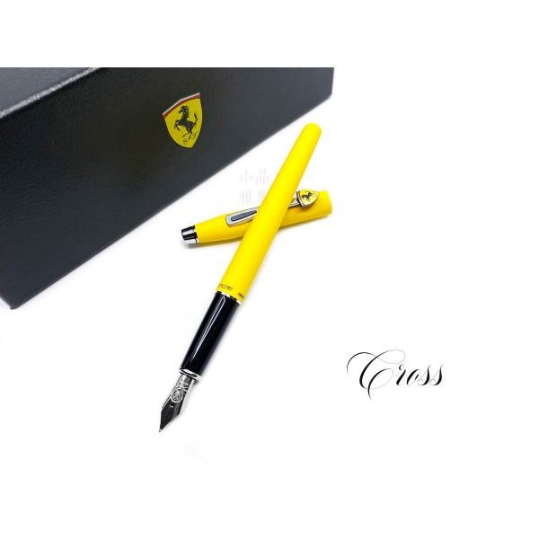 CROSS 高仕 CLASSIC CENTURY 法拉利 新經典世紀系列 鋼筆(霧黃)