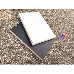 臺灣-綠的-紙品 拾彩 空白/點點內頁 鋼筆專用紙 質樸筆記本(A5/14.7x21cm)