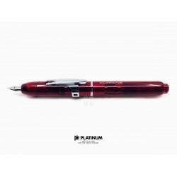 日本 PLATINUM 白金 CURIDAS 按壓式 鋼筆(Gran Red 紅色)