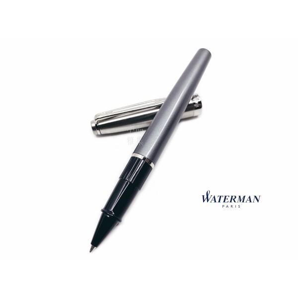 法國 Waterman Emblème 巴黎魅影系列 鋼珠筆(豪華灰)