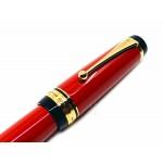 日本 PILOT 百樂 Custom Urushi 硬橡膠 漆塗 30號尖 18K 鋼筆(紅)