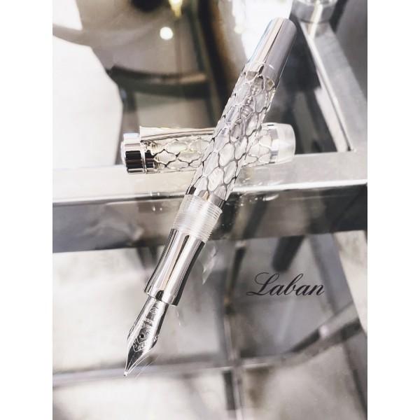 LABAN FLORA 鋼筆(銀色)