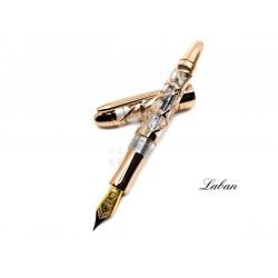 LABAN 300系列 Skeleton 鋼筆(玫瑰金色)