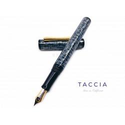 日本 TACCIA 「Tweed LE Collection」 硬橡膠上漆 鋼筆(綠松石)