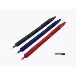 德國 rotring 洛登 金屬筆桿 專業製圖自動鉛筆 600型(限定色三色)