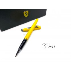 CROSS 高仕 CLASSIC CENTURY 法拉利 新經典世紀系列 鋼珠筆(霧黃)