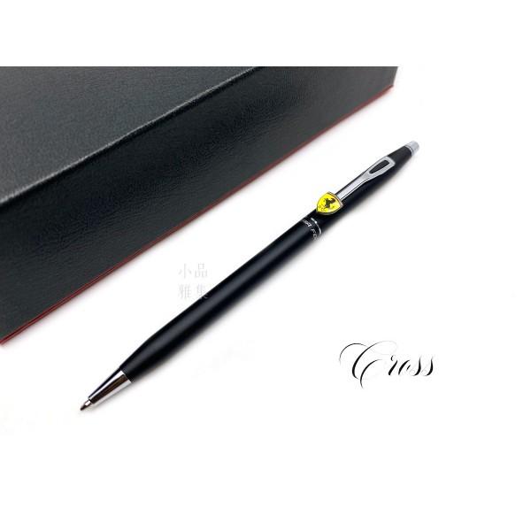 CROSS 高仕 CLASSIC CENTURY 法拉利 新經典世紀系列 原子筆(霧黑)