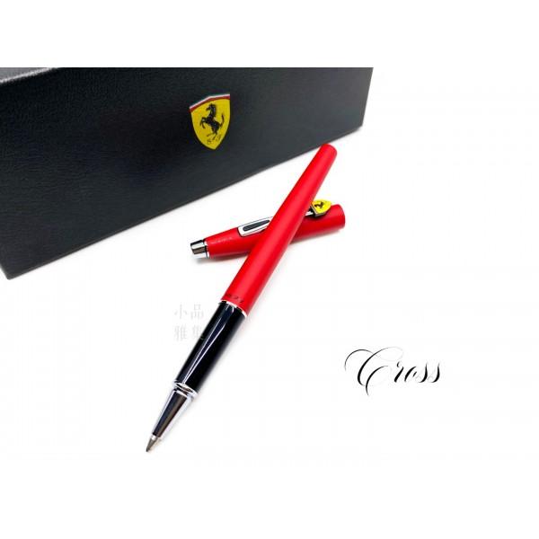 CROSS 高仕 CLASSIC CENTURY 法拉利 新經典世紀系列 鋼珠筆(霧紅)