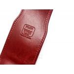 日本 PILOT 百樂×CYPRIS 2支裝 手染牛皮筆套(紅)