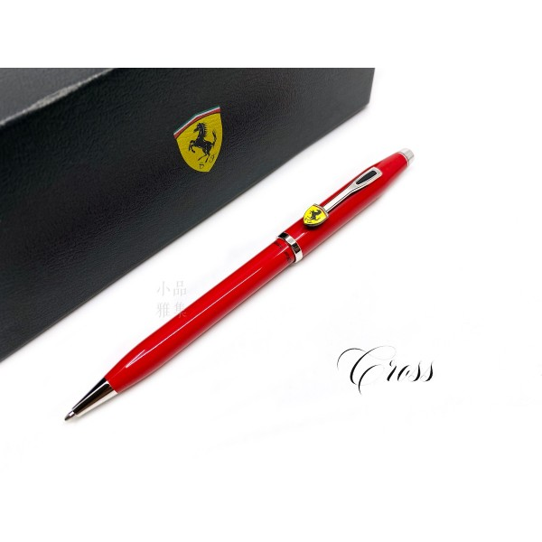 CROSS 高仕 CENTURY II 法拉利 經典世紀2系列 原子筆(亮紅)