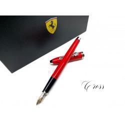 CROSS 高仕 TOWNSEND 濤聲系列 法拉利 18K金 聯名款鋼筆(紅)買就送法拉利聯名筆座!