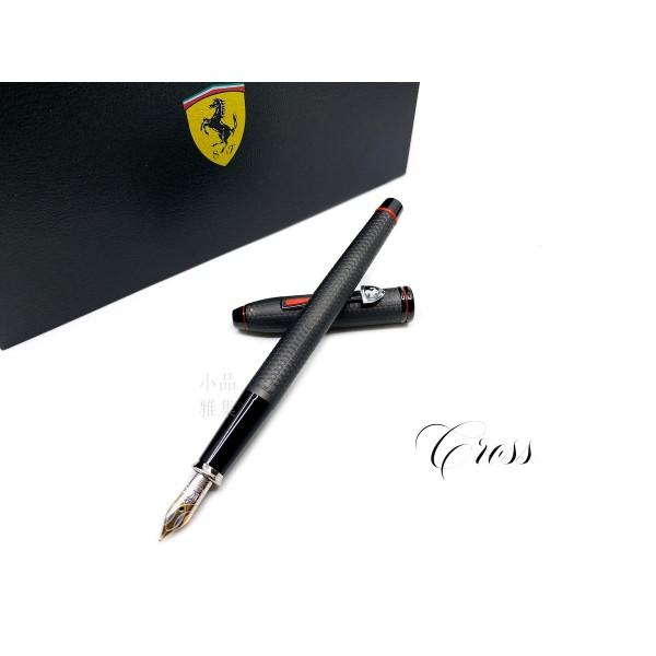 CROSS 高仕 TOWNSEND 濤聲系列 法拉利 18K金 聯名款鋼筆(黑色)