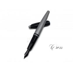 Cross 高仕 凱樂系列 雙色 鋼筆(啞光灰色)