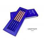 瑞士 CARAN D'ACHE 卡達 Klein Blue® 專家級素描鉛筆組 HB (4 支)