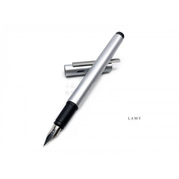 德國 LAMY PUR 47系列 鋼筆(霧銀)