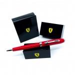 CROSS 高仕 TOWNSEND 濤聲系列 法拉利 聯名款原子筆(紅)買就送法拉利聯名筆座!