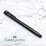 德國 Faber-Castell 輝柏 NEO  髮絲紋袖珍型 鋼珠筆 夜灰(146256)