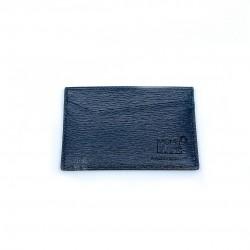 德國 Montblanc 萬寶龍 4810 Westside 真皮 水波紋 名片夾 黑色(116385)