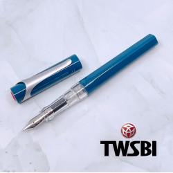 臺灣 TWSBI 三文堂  SWIPE 卡式上墨鋼筆(藍色)