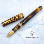 義大利 ASC Bologna Extra  波隆那 埃及系列  Ramesses II  拉美西斯 二代 氣壓上墨 14K彈性尖鋼筆