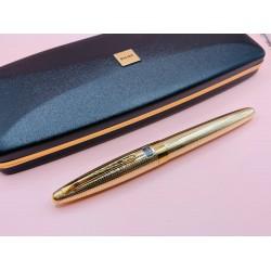 ⭐庫存新品 ⭐日本製 PILOT 鍍金格紋 CUSTOM 18K金尖  鋼筆