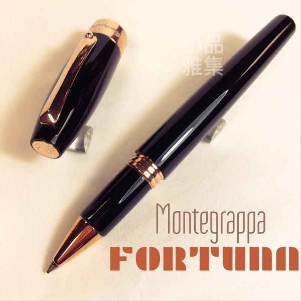 義大利Montegrappa萬特佳 FORTUNA玫瑰金鋼珠筆