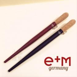 德國 e+m 原木 軟木塞握位 沾水筆筆桿