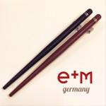 德國 e+m 原木 沾水筆筆桿