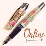德國 online 校園系列 城堡花園 鋼筆