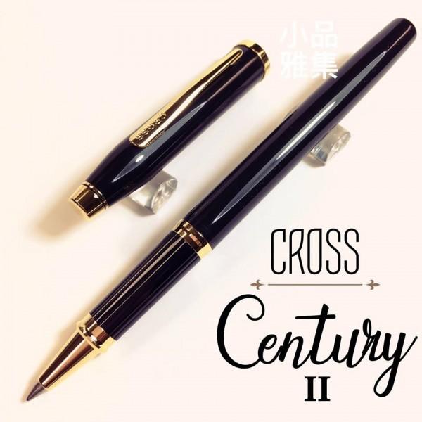 CROSS 高仕Century II 亮黑金夾 鋼珠筆