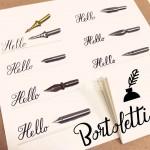 義大利 Bortoletti 沾水筆 set100 筆尖組(綜合10支一組)